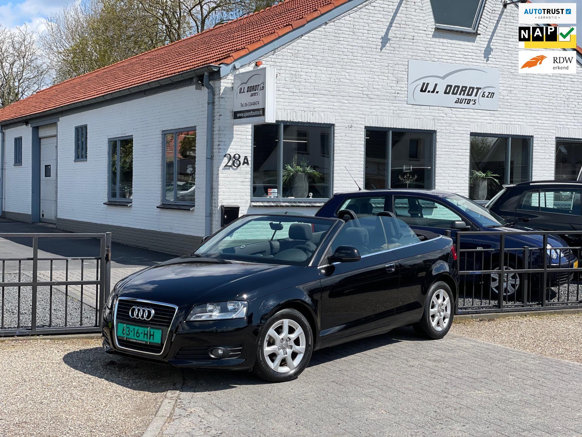 Audi A3 Cabriolet occasion - U.J. Oordt Auto's