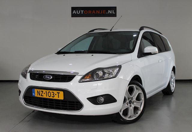 Ford Focus Wagon 1.8-16V Ghia Flexifuel, Clima, Cr Control, Nette Staat!!