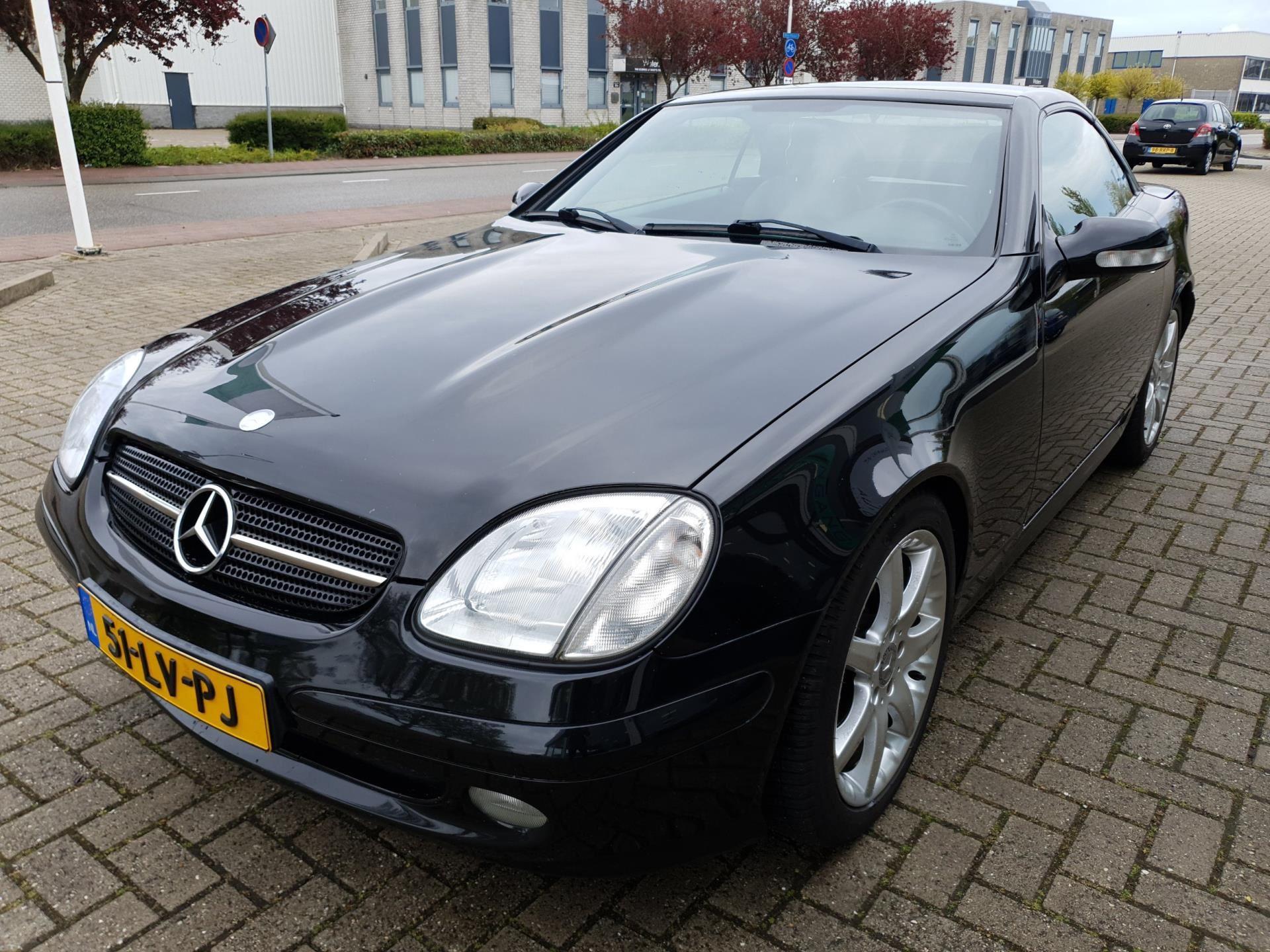 Mercedes-Benz SLK-klasse occasion - RP Automotive