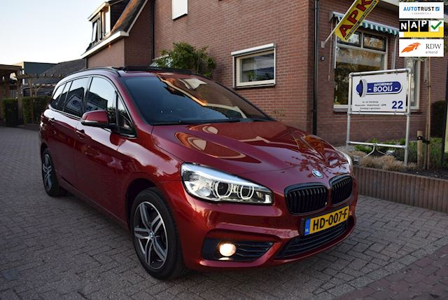 BMW 2-serie Gran Tourer 218i Sport 7 PERSOONS/DAK/LEDER/NAVI/CRUISE/PDC/XENON/HEAD-UP DISPLAY