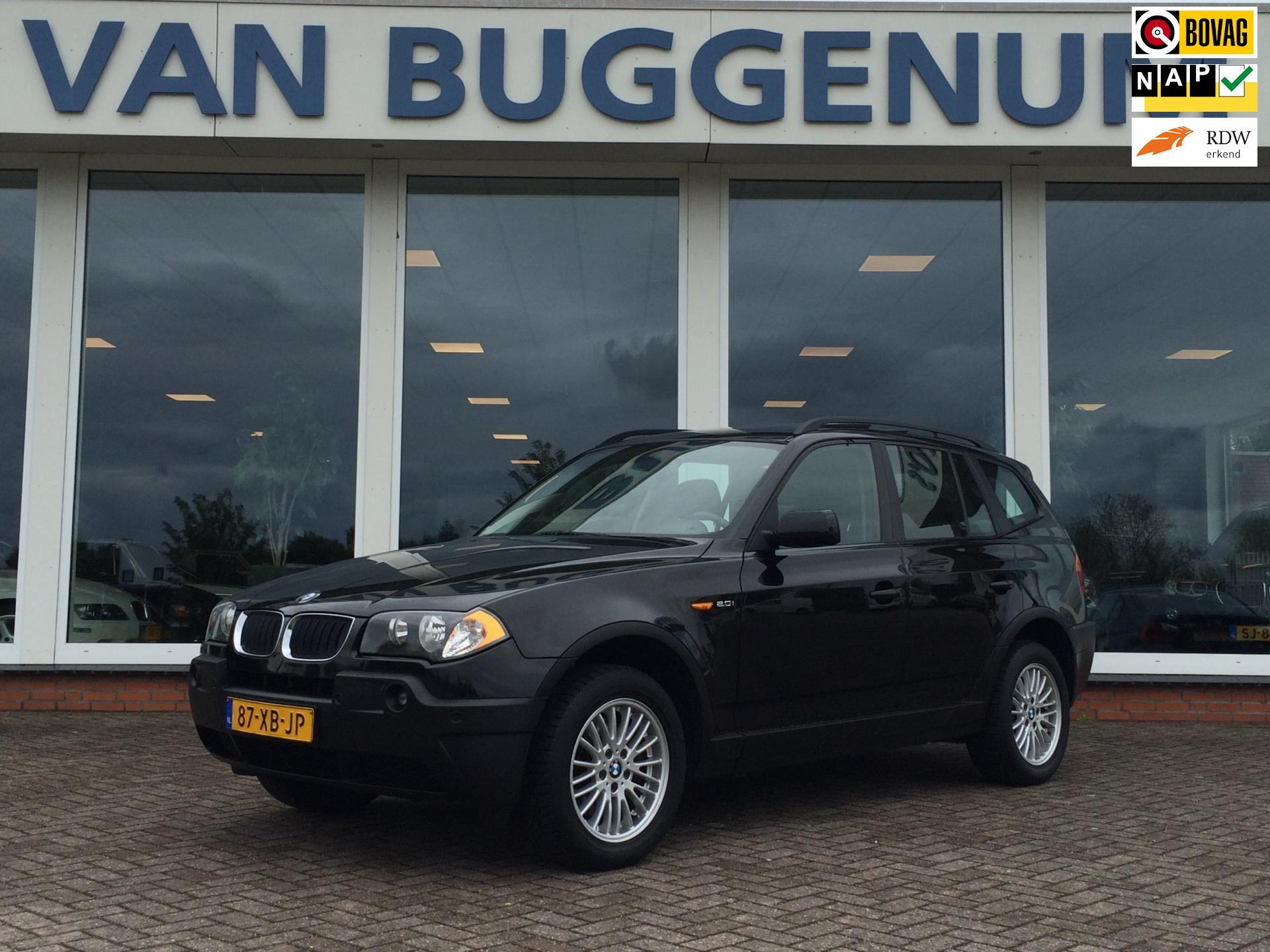 BMW X3 occasion - Automobielbedrijf J. van Buggenum