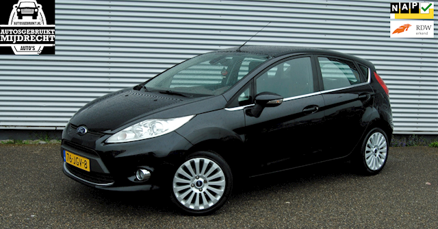 Ford Fiesta 1.6 Titanium / 5deurs / clima /nette auto / dealer onderhouden !!