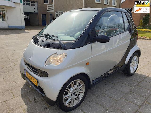 Smart Fortwo cabrio 0.7 pure LM Velgen Elektr pakket Centr vergr.Apk tot 16-07-2022.