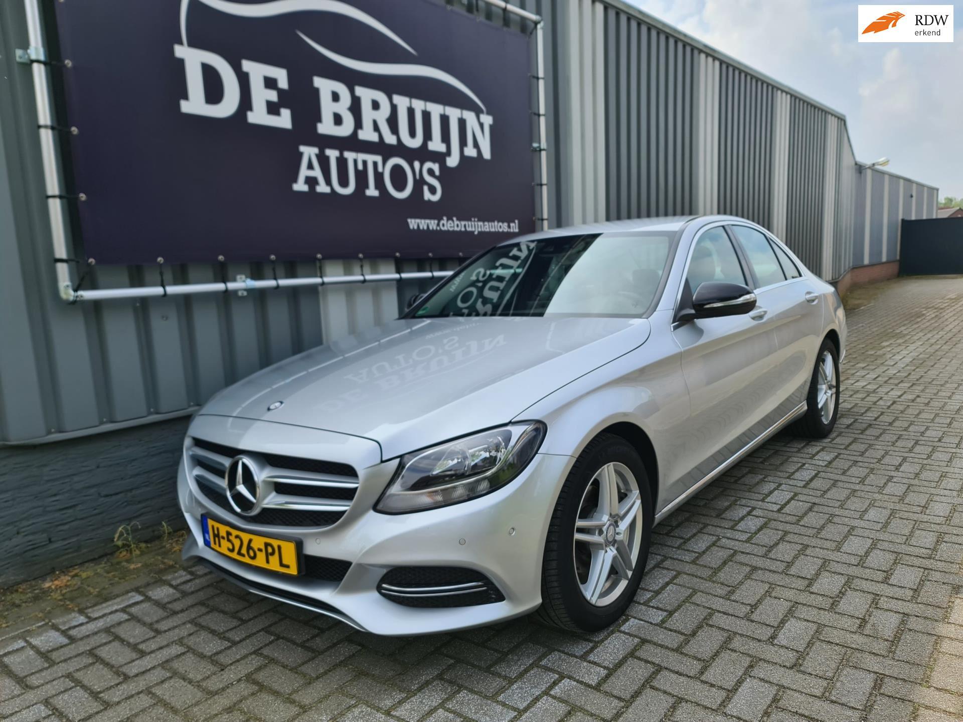 Mercedes-Benz C-klasse occasion - De Bruijn Auto's