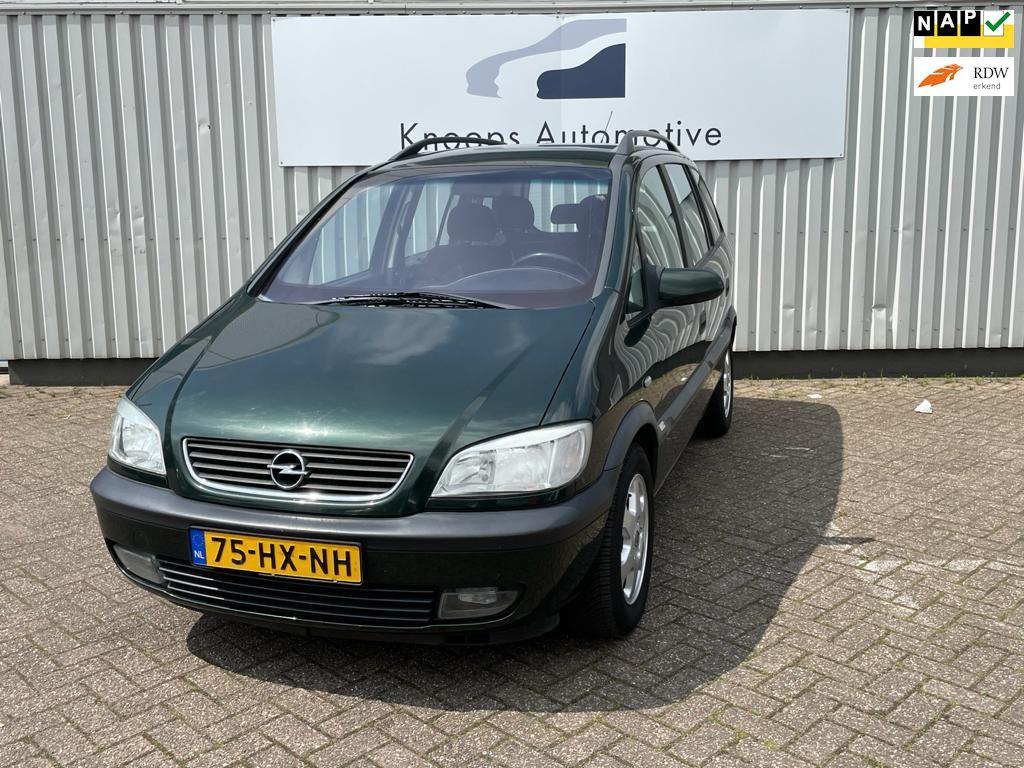 Opel Zafira occasion - Knoops Automotive