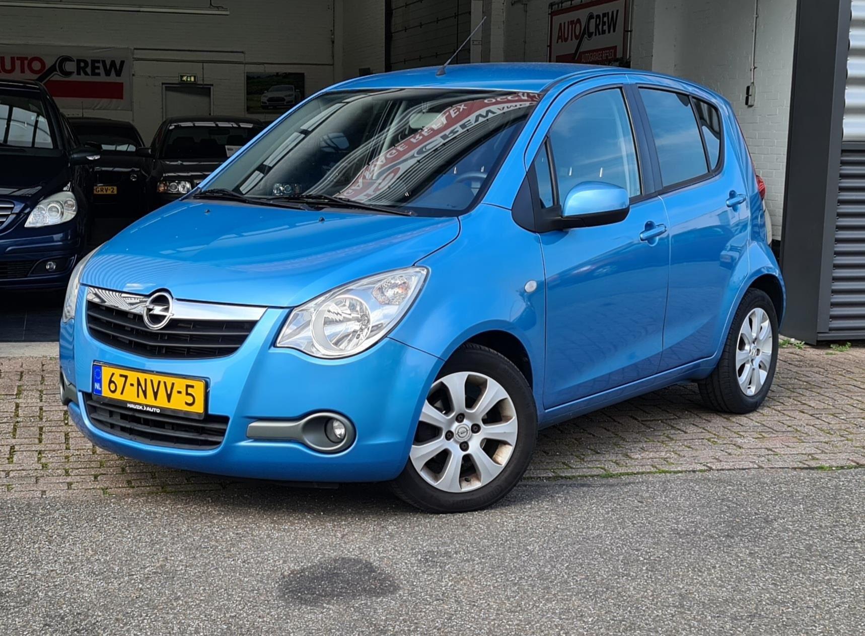 Opel Agila occasion - Garage REFLEX
