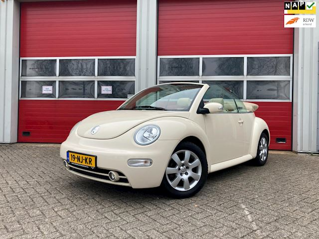 Volkswagen New Beetle Cabriolet 2.0 HIGHLINE / CREME-EDITION / AIRCO / CRUISE CONTROL