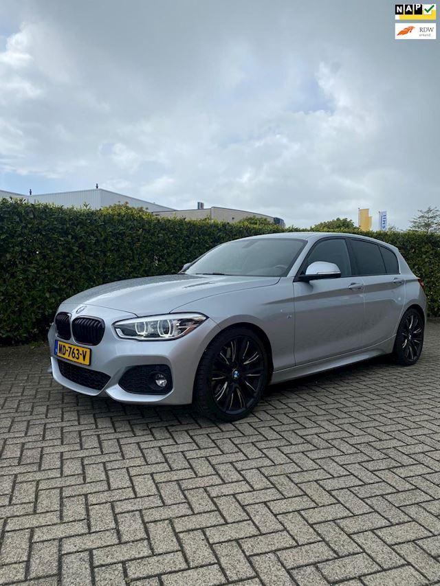 BMW 1-serie 118i M-sport High Executive 45000km NAP Navi Schuifdak Leder 5-deurs