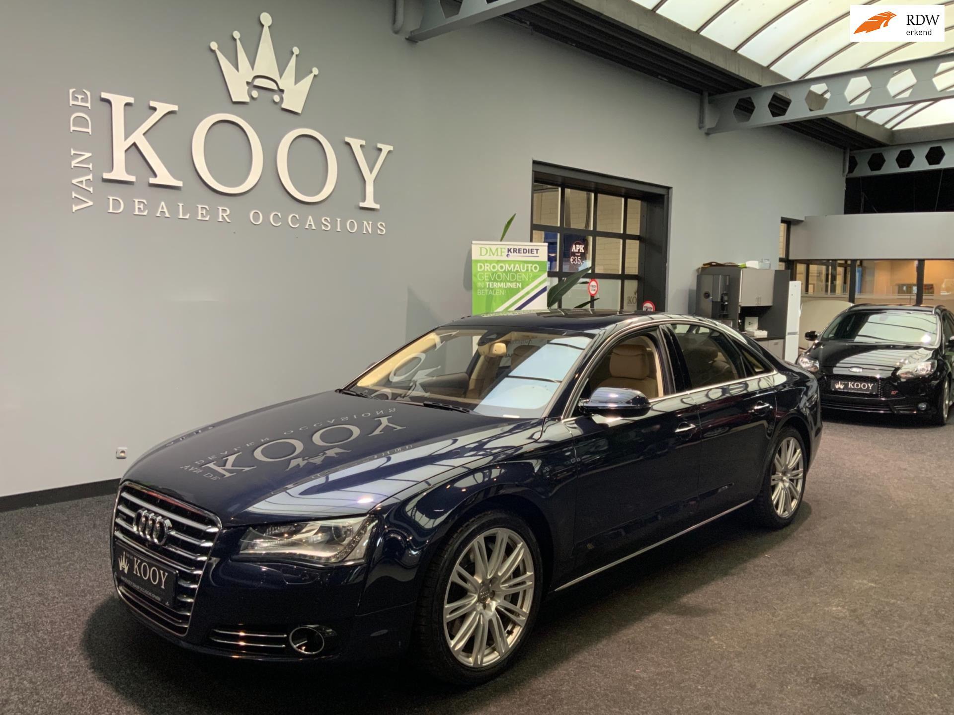 Audi A8 occasion - Van De Kooy Dealer Occasions Opmeer