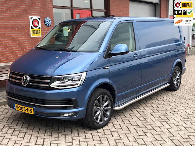 Volkswagen Transporter 2.0 TDI L2H1 Highline | DSG | 204PK | Schuifdak | Leder | LED |Standkachel | Carplay |
