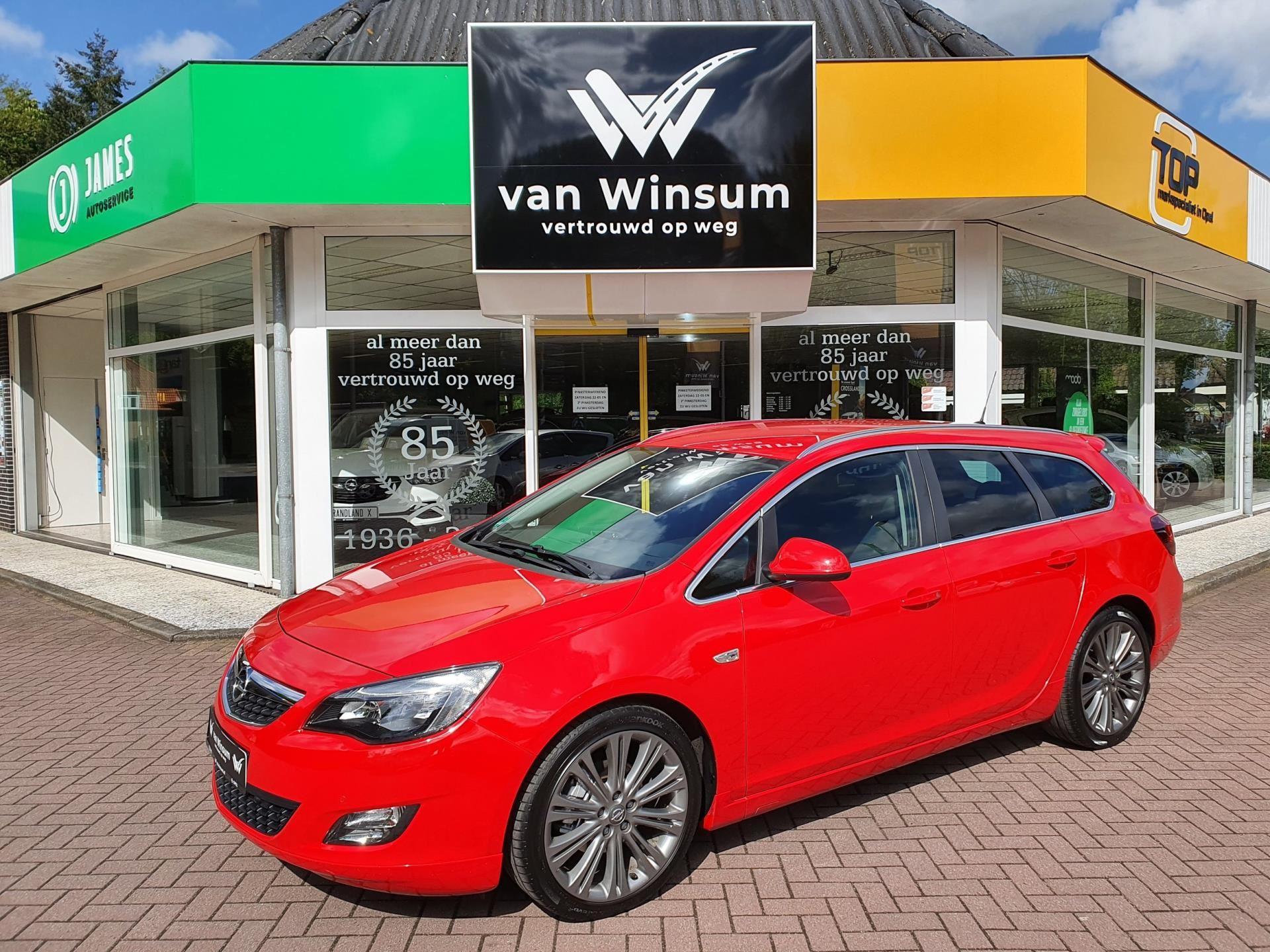 Opel Astra Sports Tourer occasion - Autobedrijf G. Van Winsum B.V.