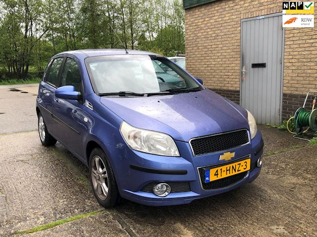 Chevrolet Aveo 1.2 16V airco, Navigatie, 41.000km NAP