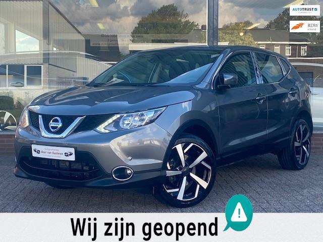 Nissan Qashqai 1.2 Acenta Automaat! Navi/Camera/19'LM/Lane assist/Cruise/LED/PDC/Afneem trekhaak/1e eigenaar/Dealer OH/Nieuwstaat!