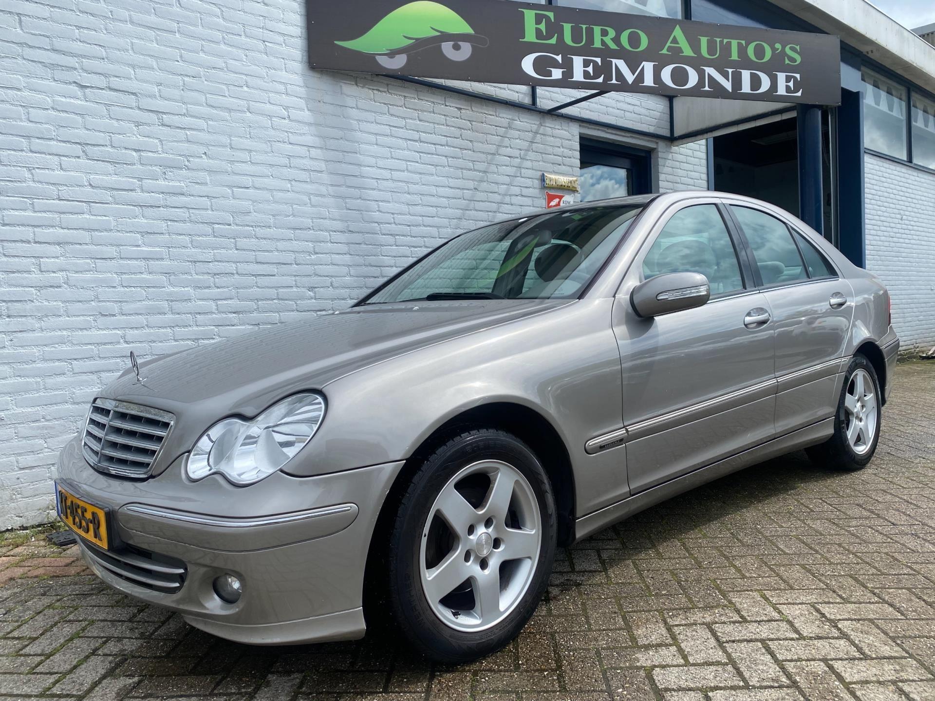 Mercedes-Benz C-klasse occasion - Euro Auto's Gemonde