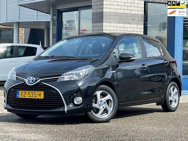 Toyota Yaris 1.5 Hybrid NAVI+CAMERA ECC LMV CRUISE-CONTROLE MULTI-STUUR Lease