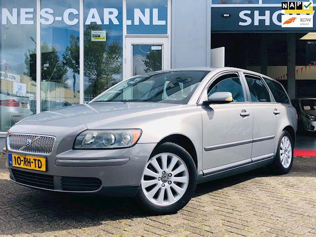 Volvo V50 2.4 Kinetic Cruise Cr, Clima, Dealer Onderhouden! Zeer Mooi!!