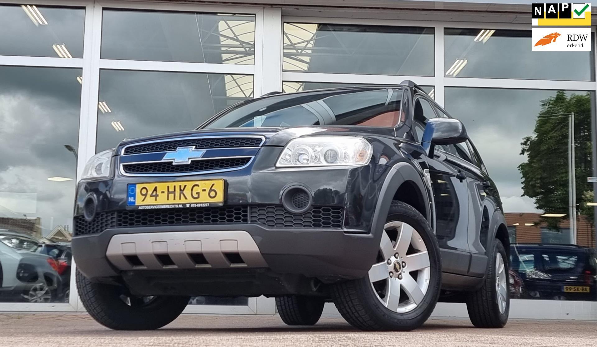 Chevrolet Captiva occasion - van den Boog Automotive