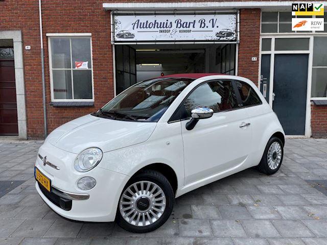 Fiat 500 C 1.2 Lounge 1e eigenaar! Airco, Leder, Nieuwe APK!