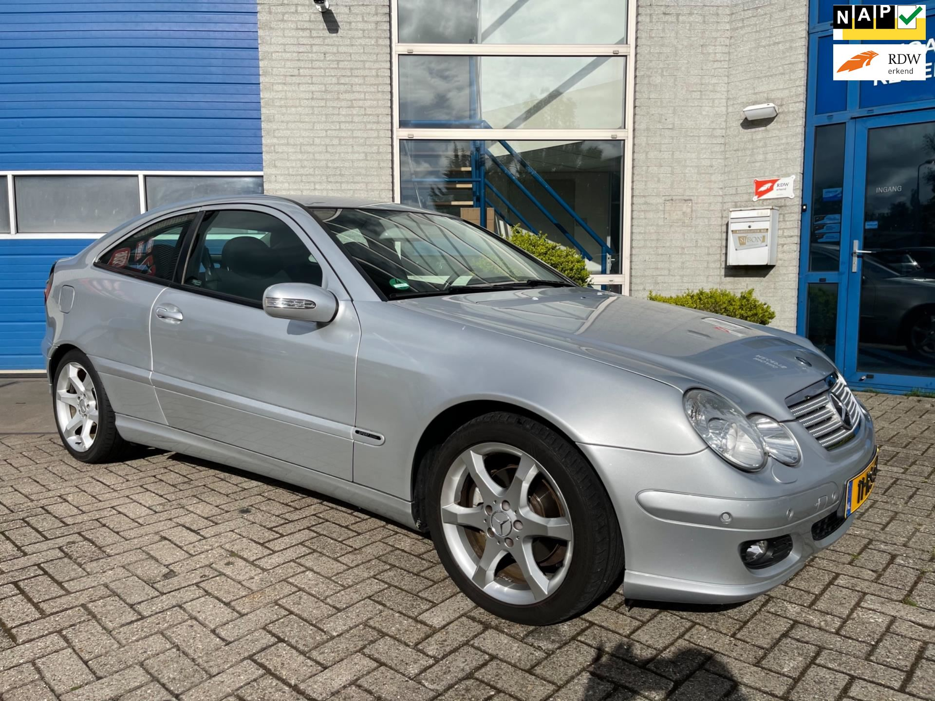 Mercedes-Benz C-klasse Sportcoupé occasion - Autocentrum Zaanstad