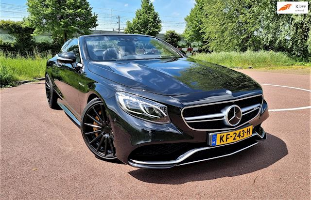 Afbeelding van de MercedesBenzSklasseCabrio63AMG4MaticVossenwielenAkrapovic