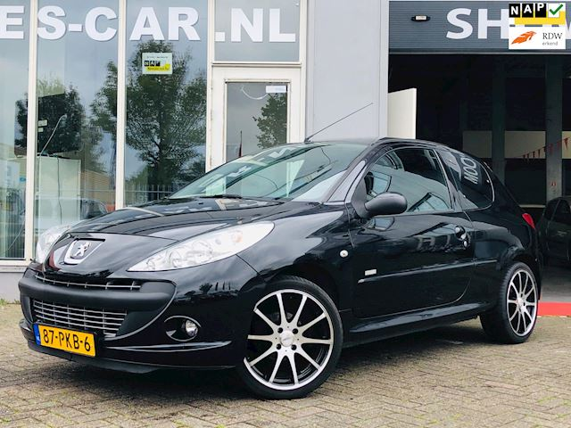 Peugeot 206 + 1.4 Millesim Airco, 16Inch' Sportvelg,GARANTIE, Goed Onderhouden!!
