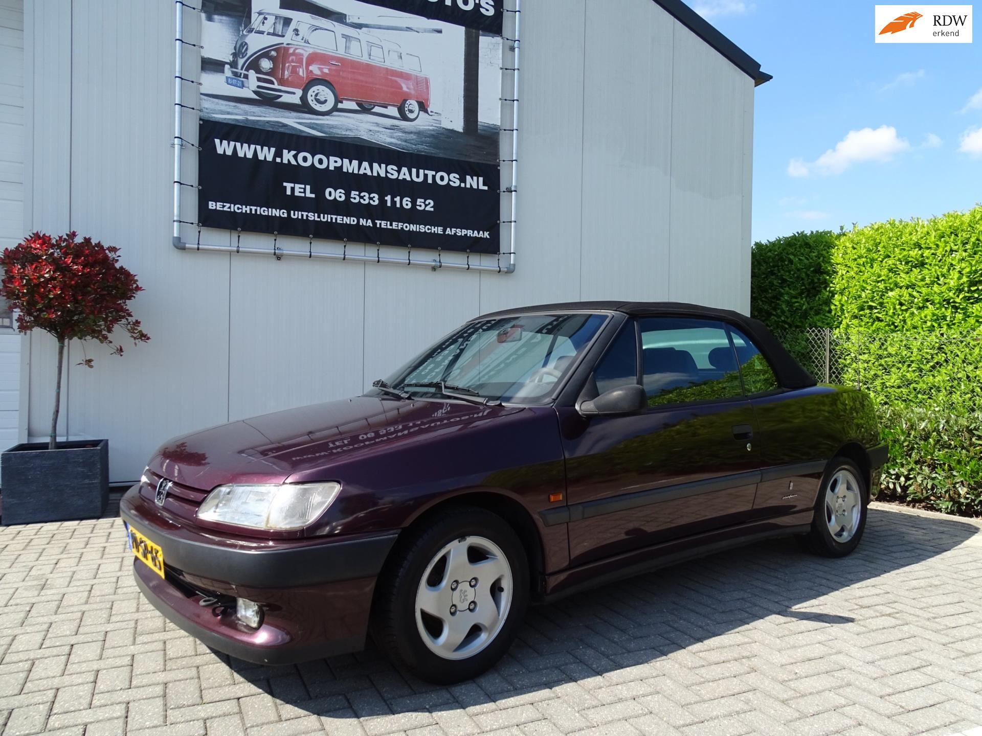 Peugeot 306 Cabriolet occasion - Koopmans Auto's