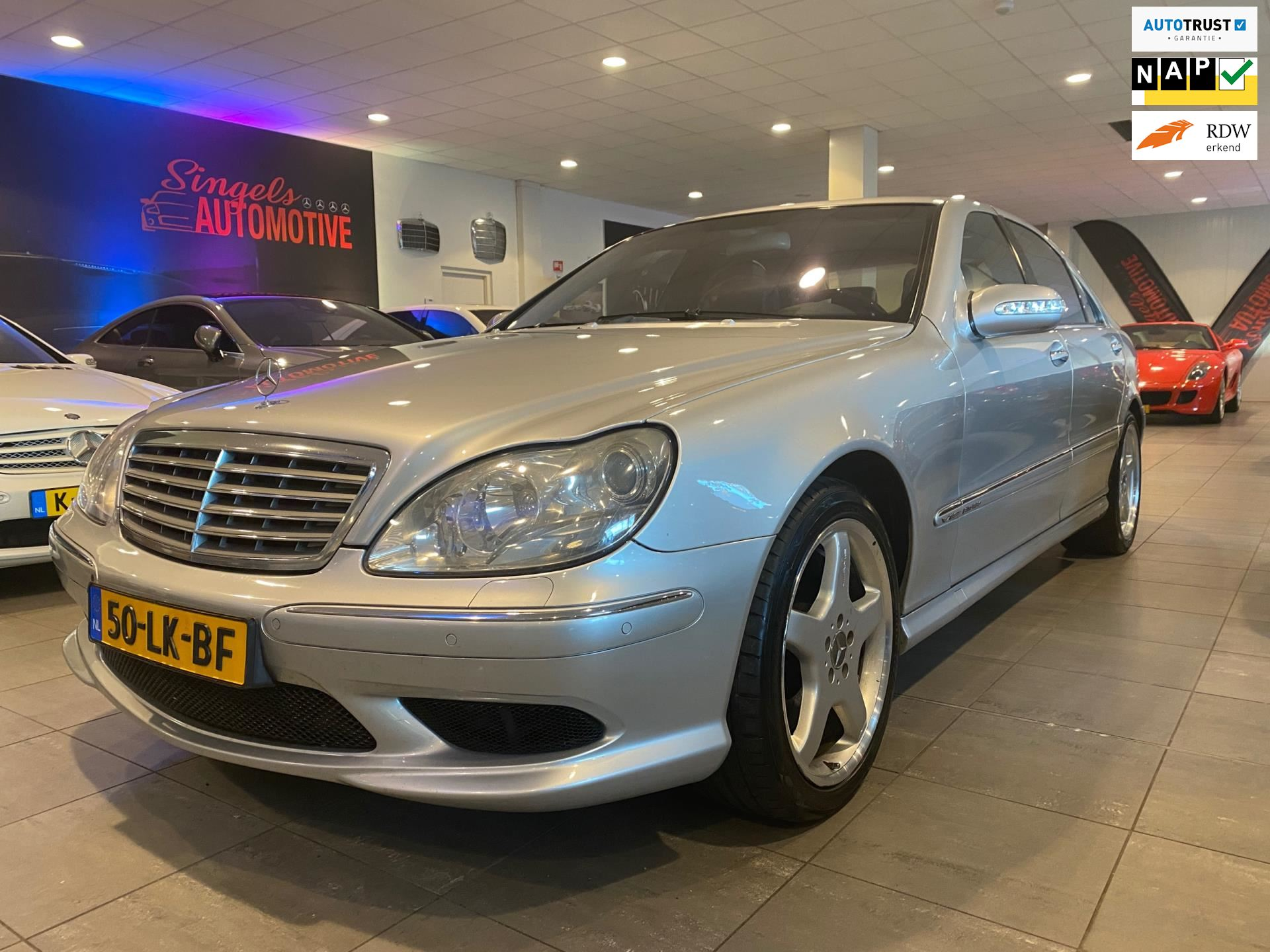 Mercedes-Benz S-klasse occasion - SINGELS AUTOMOTIVE
