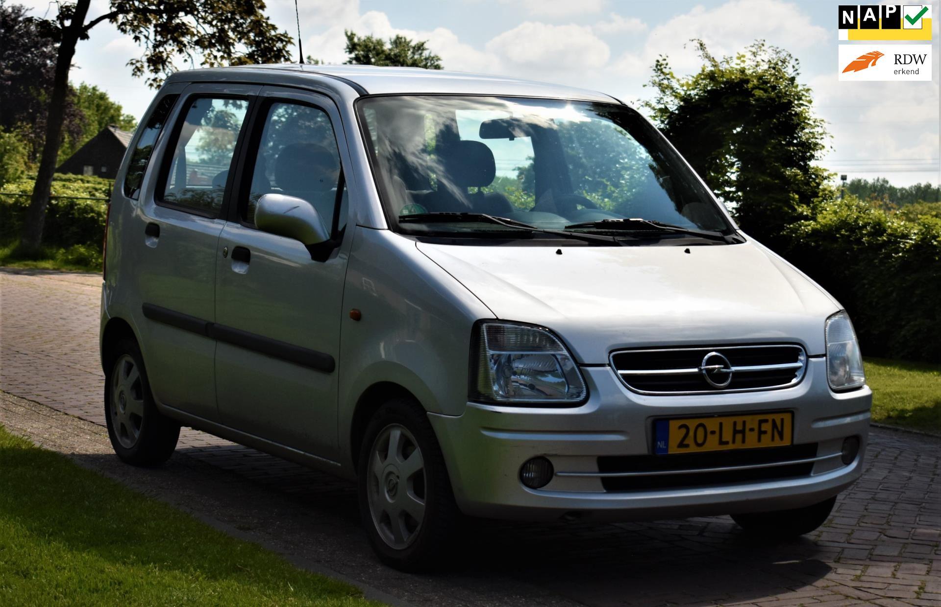 Opel Agila occasion - F. Klomp Auto's