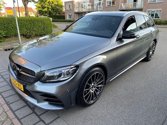 Mercedes-Benz C-klasse Estate 180 AMG Plus Selenit Grau Widesc