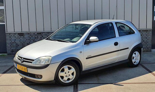 Opel Corsa 1.2-16V 3D 2001 Grijs AIRCO*NAP*APK 2022