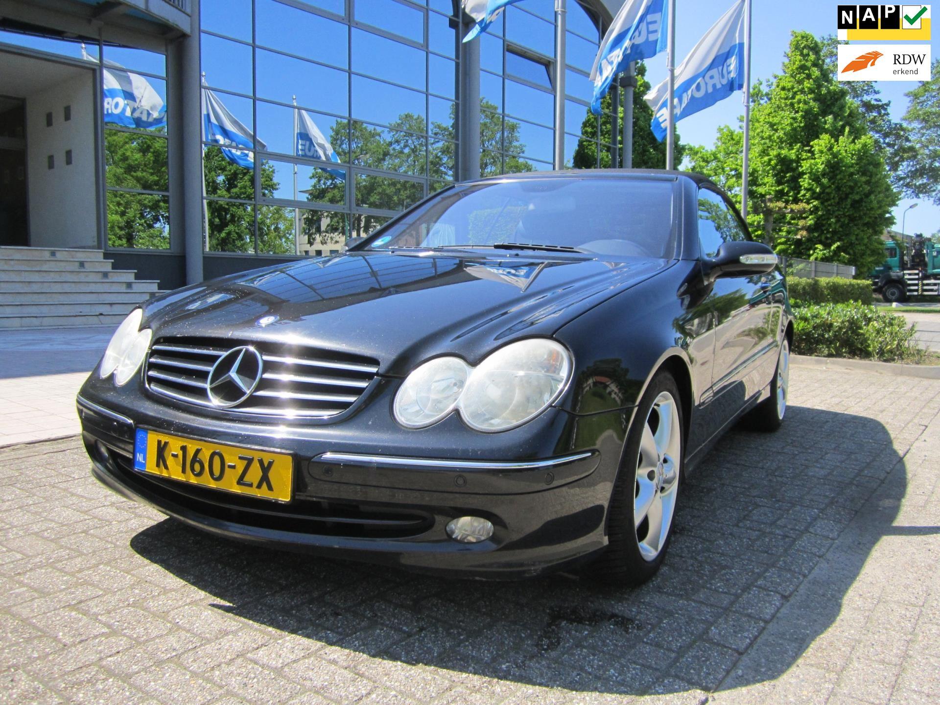 Mercedes-Benz CLK-klasse Cabrio occasion - HG Auto's