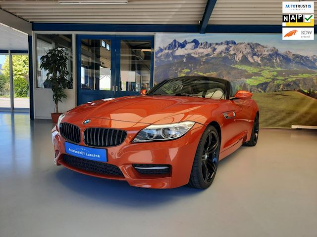 BMW Z4 Roadster SDrive35is High Executive 2014 Pure Traction, Facelift, M-Uitvoering, Elek Sportstoel, PDC, Hifi, Connect Drive
