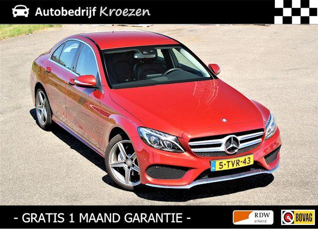 Mercedes-Benz C-klasse 180 Ambition Comfort ///AMG Pakket * org NL auto * Van 1e Eigenaar *