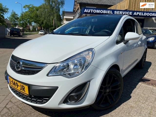 Opel Corsa 1.4-16V Color Edition *AIRCO*SPORTSTOELEN*STUURBEKR.*LM.VELGEN*ELLEK.PAKKET*APK