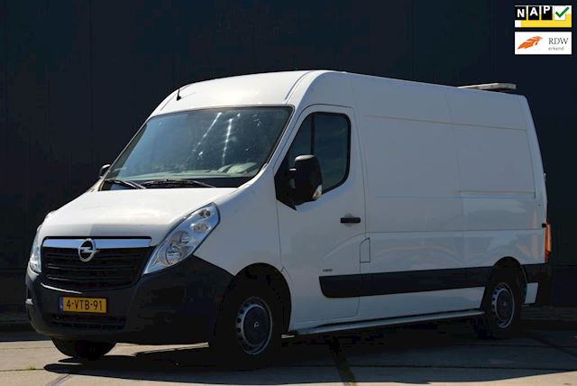 Opel Movano 2.3 CDTI L2H2 101PK Airco Schuifdeur Kastinrichting Laadkraan 150KG