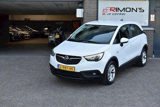 Opel Crossland X 1.2 Carplay Airco Elek.Ramen+Spiegels Parkeersensor LM-Velgen