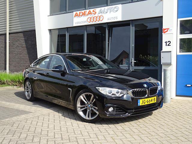 BMW 4-serie Gran Coupé 418i Sport aut / leder / xenon / dealer onderhouden