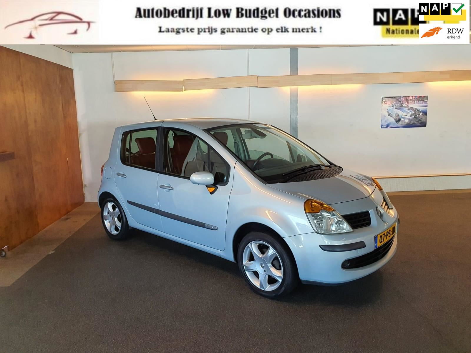 Renault Modus occasion - Low Budget Occasions