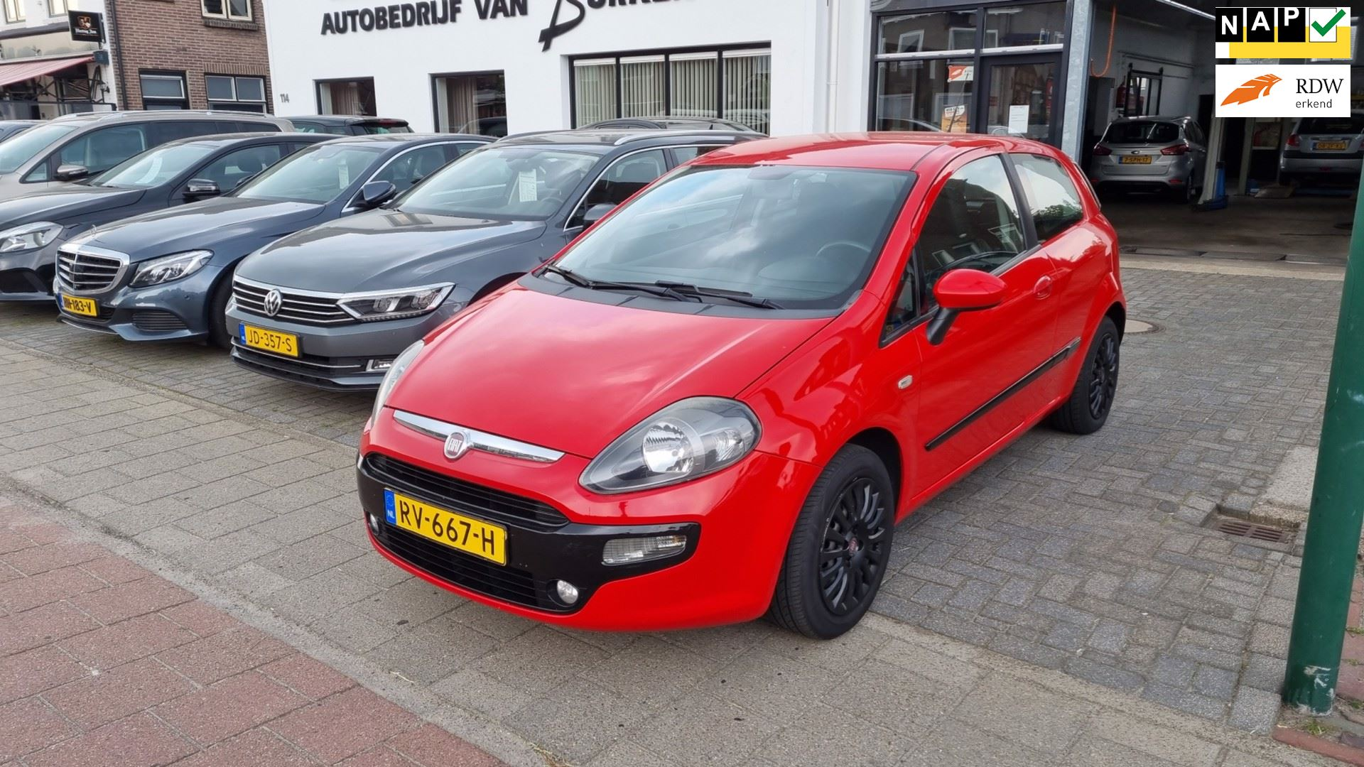 Fiat Punto Evo occasion - Autobedrijf van Burken