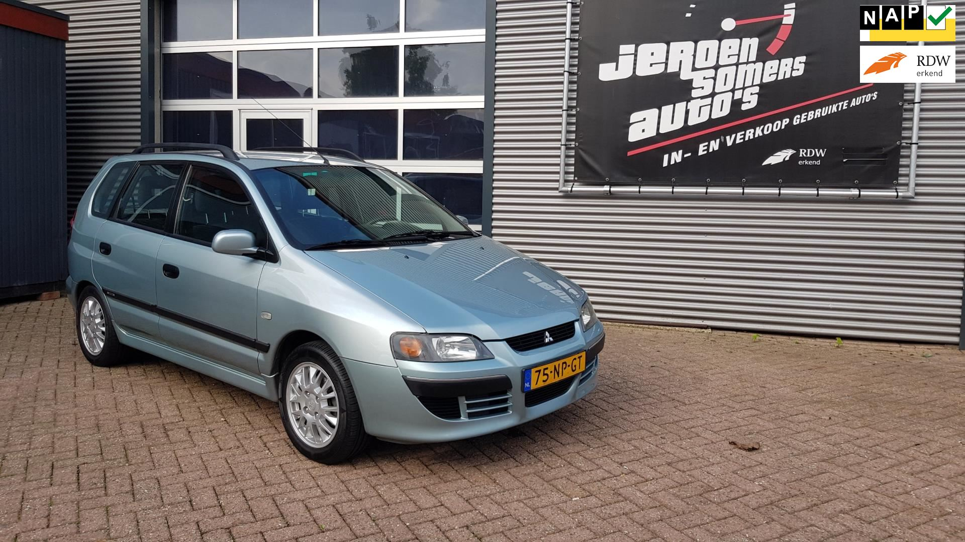 Mitsubishi Space Star occasion - Jeroen Somers Auto´s