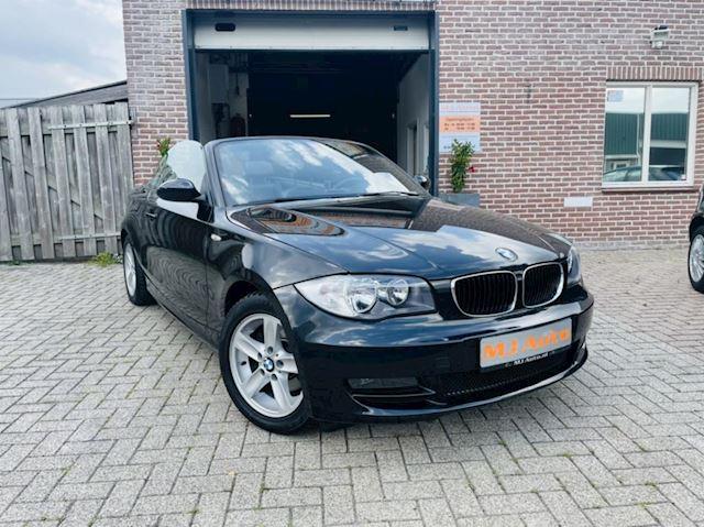 BMW 1-serie Cabrio 118i Executive LEDER*NAVI*PDC