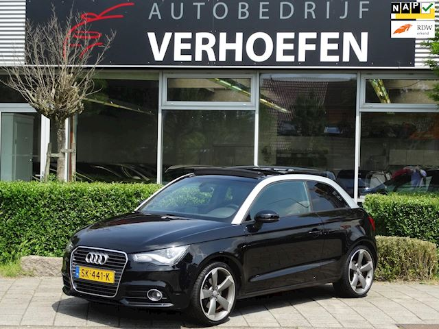 Audi A1 1.4 TFSI Attraction - AUTOMAAT - PANORAMA - LEDER - XENON - CLIMATE CONTR !!