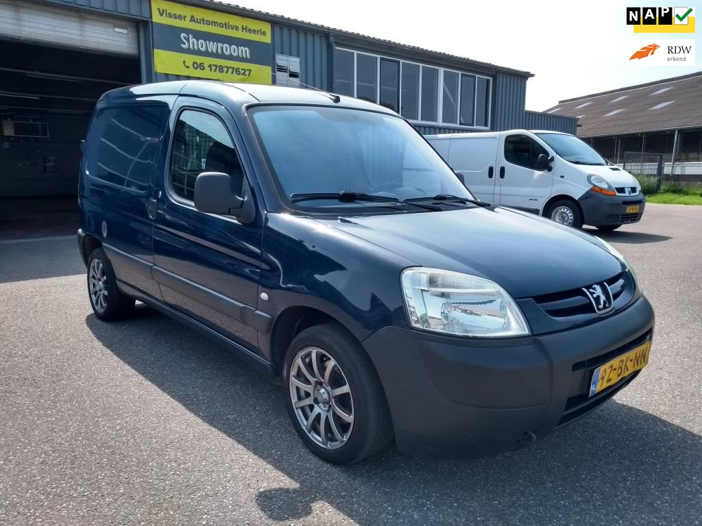 Peugeot Partner occasion - Visser Automotive Heerle