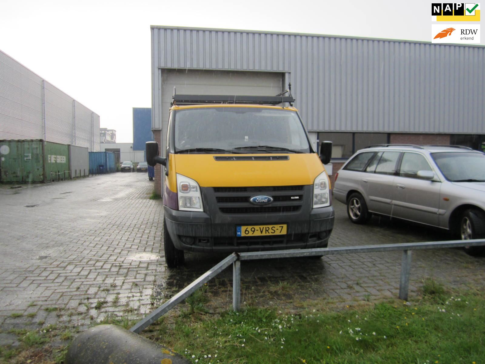 Ford Transit occasion - De Ridder auto's