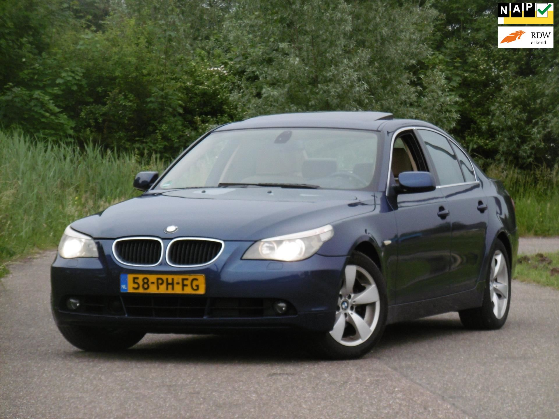 BMW 5-serie occasion - Dunant Cars