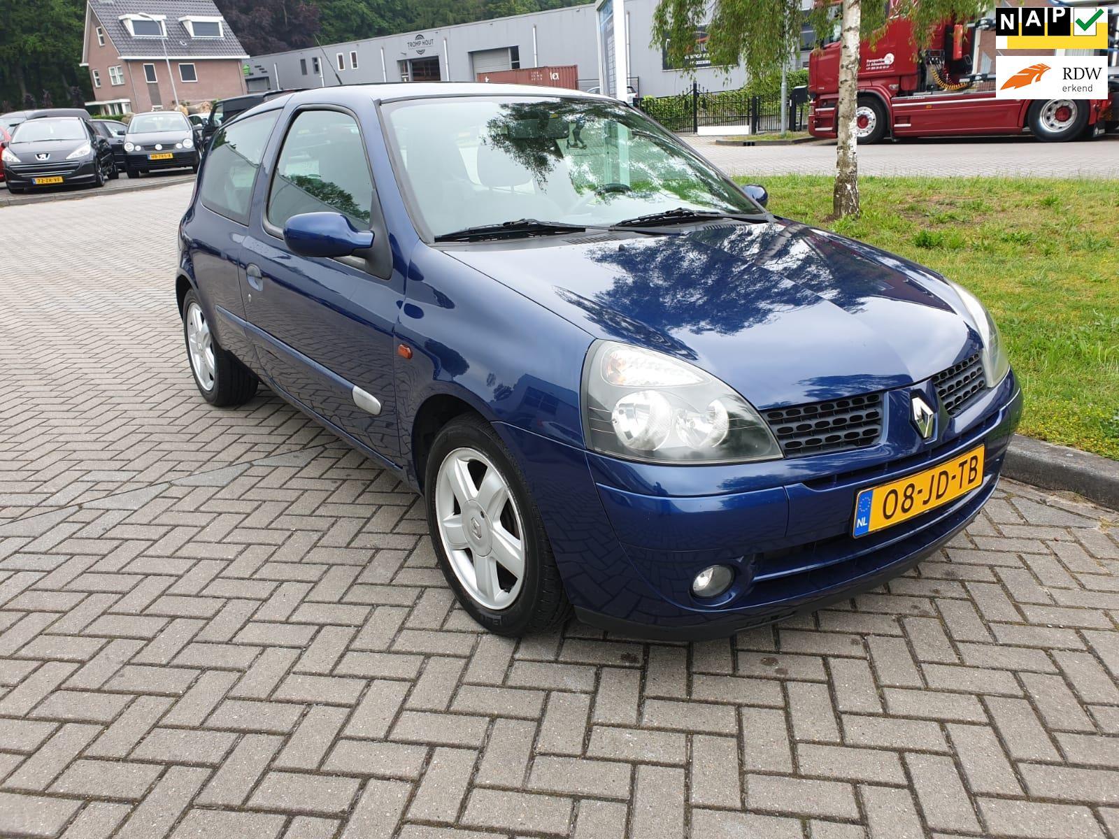 Renault Clio occasion - v.d. Weg Auto's