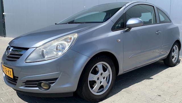 Opel Corsa 1.2-16V Enjoy|Airco|APK|NAP|Grijs|Lichtmetaal