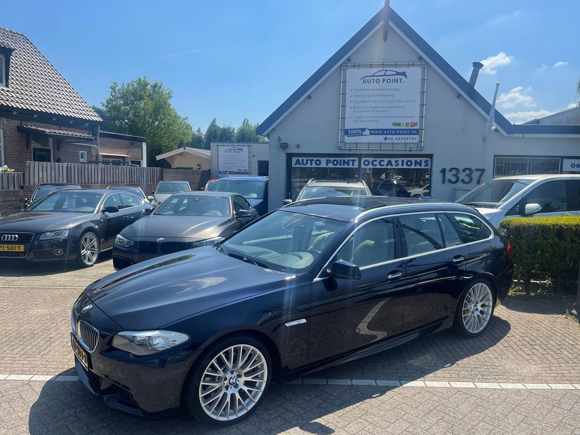 BMW 5-serie Touring occasion - Auto Point