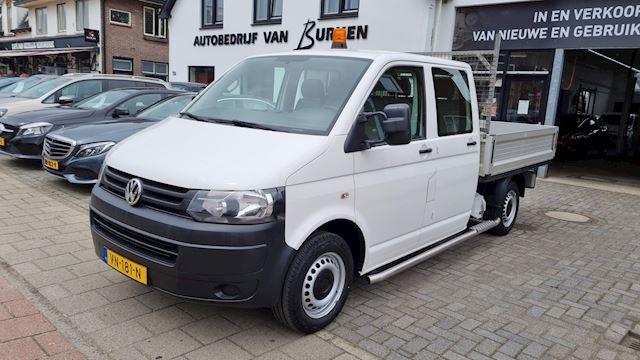 Volkswagen Transporter 2.0 TDI L2H1 BM DC, Airco,Trekhaak, Dubbele bijrijdersstoel,Dubbele cabine