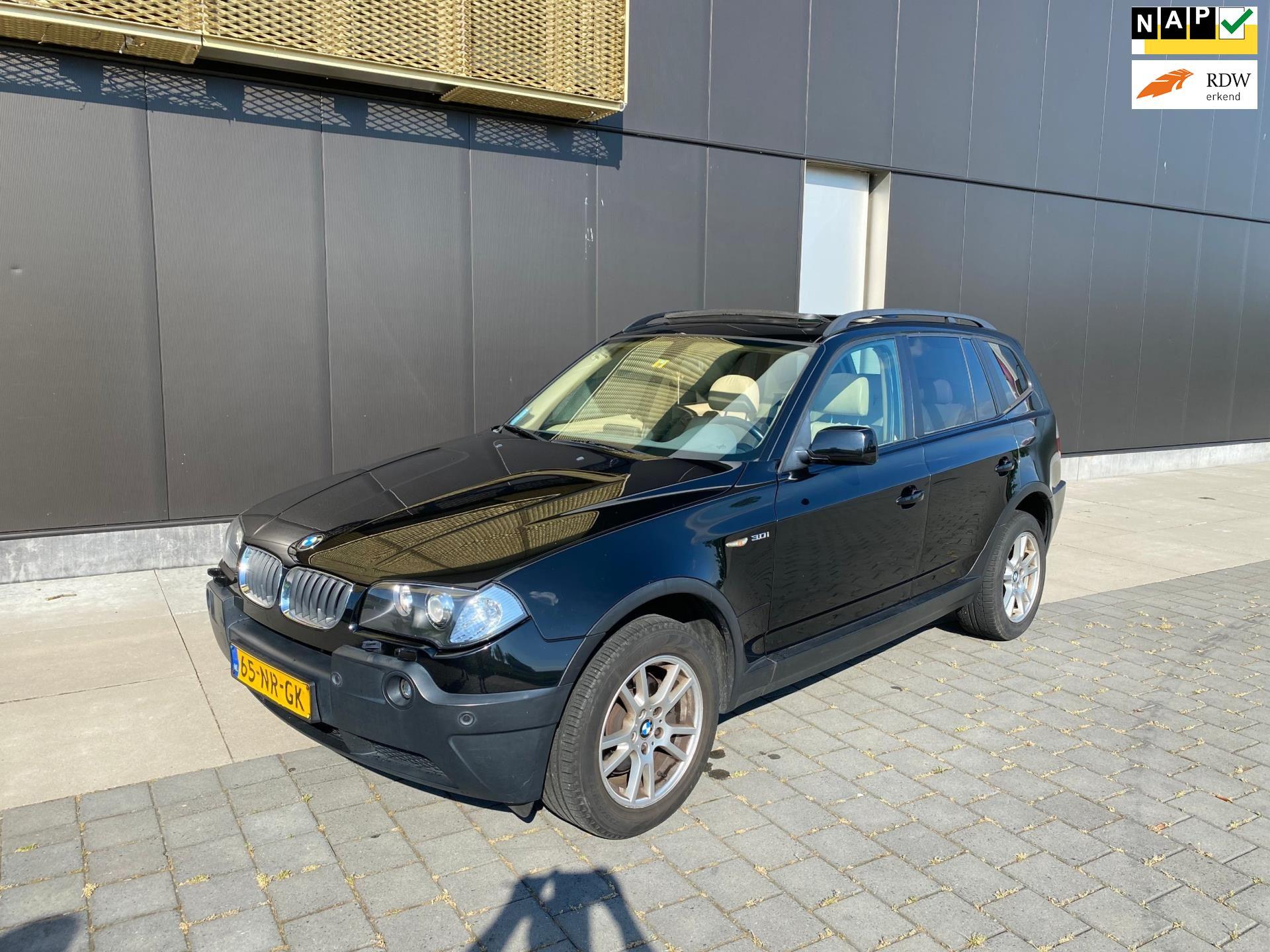 BMW X3 occasion - Zwaard Auto's